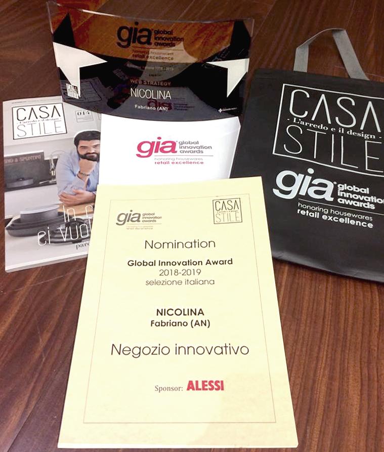 Global Innovation Award 2018 - Innovazione retail