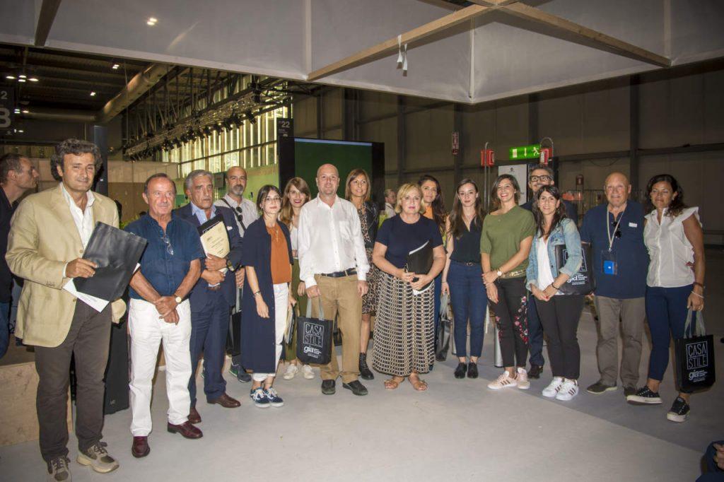 Premiazioni GIA 2018 a Homi Milano-Innovazione retail